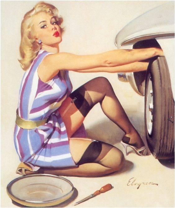 Powrót do lat '50 i kolorowy świat Pin-up Girls