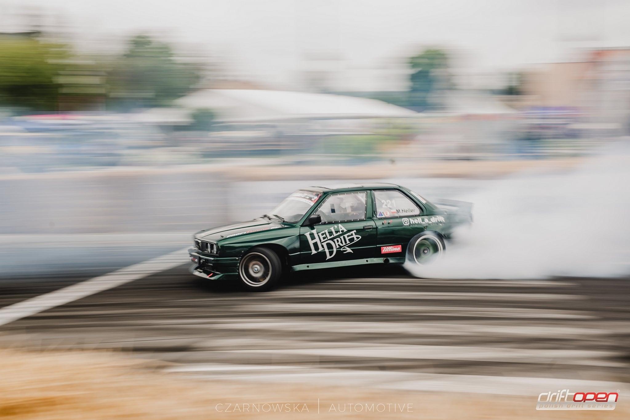 Czarnowska Automotive na 55 Rundzie Drift Open w Kietrzu. Był dym i nie lada emocje zamknięte w kadrach!